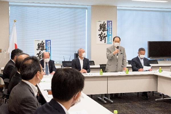 片山虎之助日本維新の会共同代表