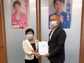 福島みずほ社会民主党党首